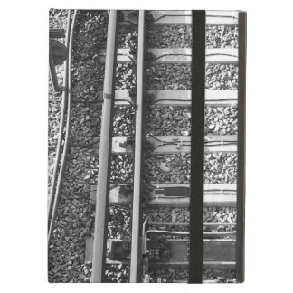 Railroad Tracks Picture. iPad Covers