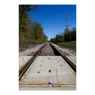 Railroad Tracks Posters