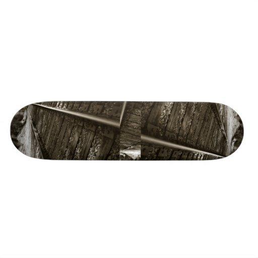 Railroad Tracks, Railroad Tracks, Railroad Tracks Skate Board Decks