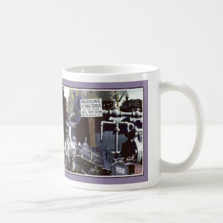 Railroading Montage Basic White Mug