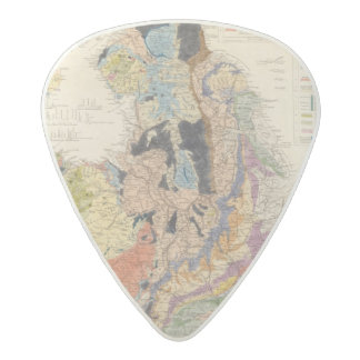 Railroads in England Acetal Guitar Pick