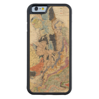 Railroads in England Carved Maple iPhone 6 Bumper Case