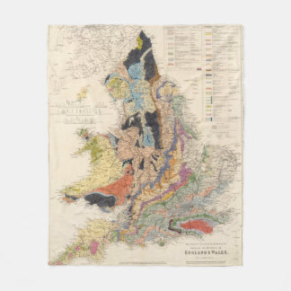 Railroads in England Fleece Blanket