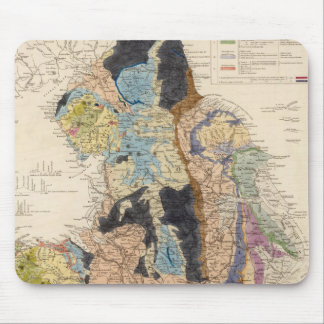 Railroads in England Mouse Mat