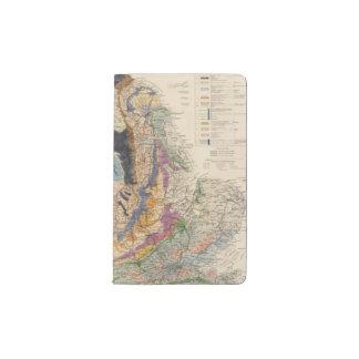Railroads in England Pocket Moleskine Notebook