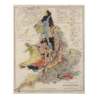 Railroads in England Poster