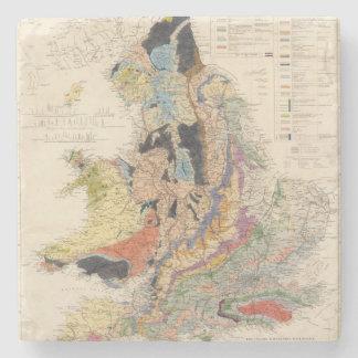 Railroads in England Stone Coaster