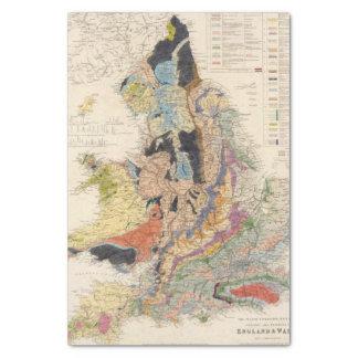 Railroads in England Tissue Paper