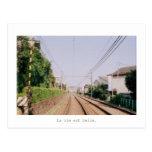 railway 葉書き
