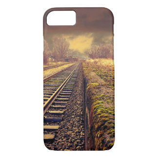 Railway autumn scenery iPhone 7 case