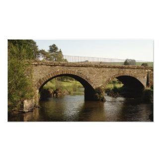 Railway Bridge Over The Eden Photo Print