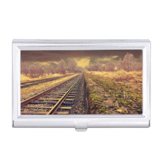 Railway Business Card Holder