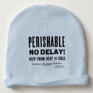 Railway Express Agency; Perishable ! Baby Beanie