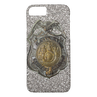 Railway Express Police Badge iPhone 7 Case