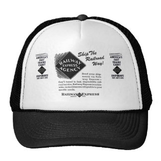 Railway Express - Ship The Railroad Way Cap