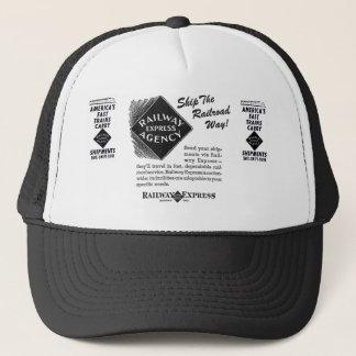 Railway Express - Ship The Railroad Way Trucker Hat