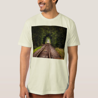 Railway green beautiful scenery T-Shirt