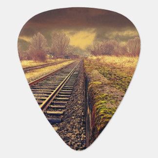 Railway Guitar Pick