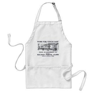 Railway Postal Clerk 1926 Adult Apron