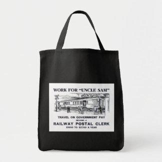Railway Postal Clerk 1926 Bags