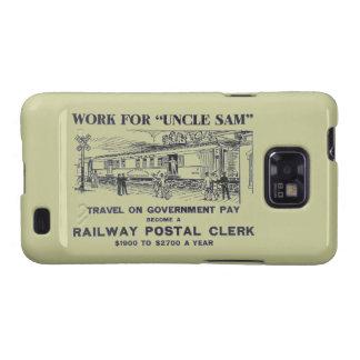 Railway Postal Clerk 1926 Samsung Galaxy S2 Covers
