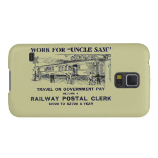 Railway Postal Clerk 1926 Galaxy S5 Covers