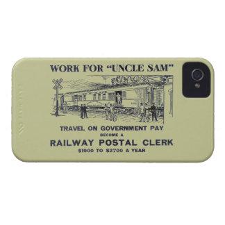 Railway Postal Clerk 1926 Case-Mate iPhone 4 Case