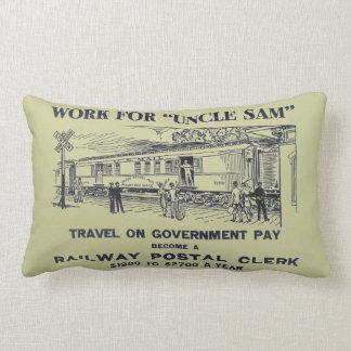 Railway Postal Clerk 1926 Pillows