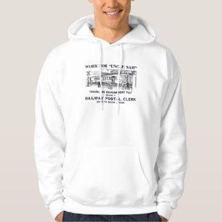 Railway Postal Clerk 1926 Hoodie