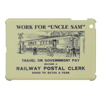 Railway Postal Clerk 1926 iPad Mini Cover