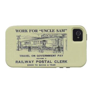 Railway Postal Clerk 1926 iPhone 4 Covers