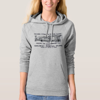 Railway Postal Clerk 1926 Long Sleeve Hoodies