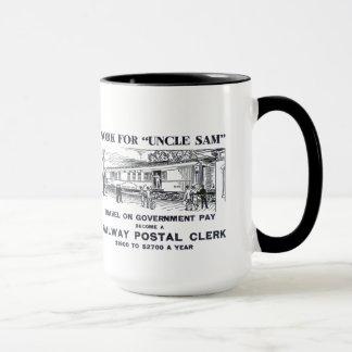 Railway Postal Clerk 1926 Mug