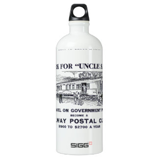 Railway Postal Clerk 1926 SIGG Traveler 1.0L Water Bottle