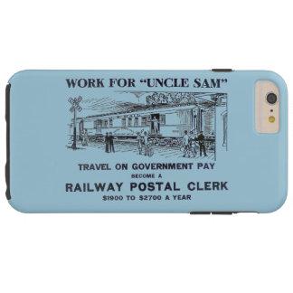 Railway Postal Clerk 1926 Tough iPhone 6 Plus Case