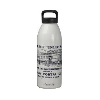 Railway Postal Clerk 1926 Drinking Bottle