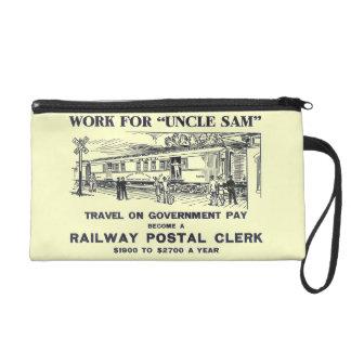 Railway Postal Clerk 1926 Wristlet