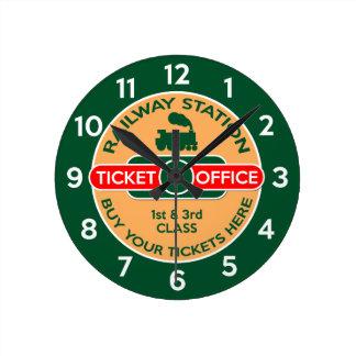 Railway Round Clock