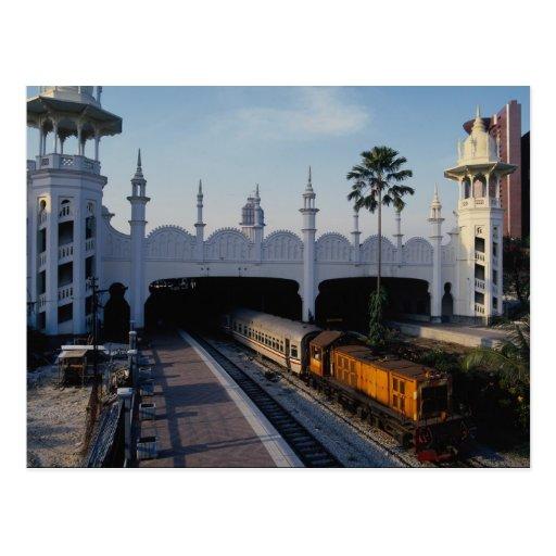 Railway station, Kuala Lumpur, Malaysia Postcards