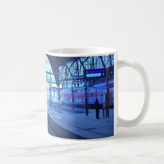 Railway Station Basic White Mug