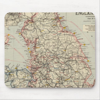Railway, statistical England, Wales Mouse Pad