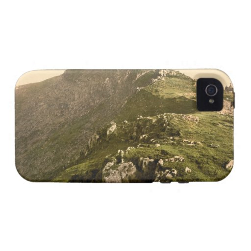 Railway, The Last Mile, Snowdon, Gwynedd, Wales iPhone 4 Cases