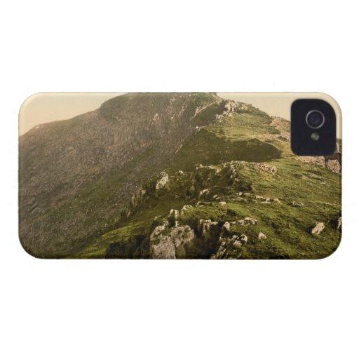 Railway, The Last Mile, Snowdon, Gwynedd, Wales iPhone 4 Case-Mate Cases