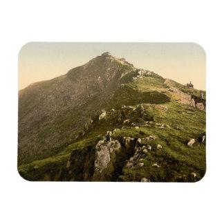 Railway, The Last Mile, Snowdon, Gwynedd, Wales Magnet