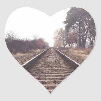 Railway to the Infinity Heart Sticker