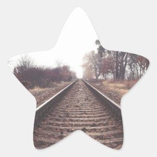 Railway to the Infinity Star Sticker