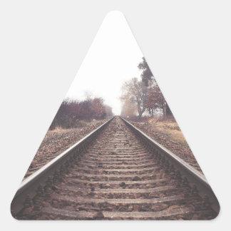 Railway to the Infinity Triangle Sticker