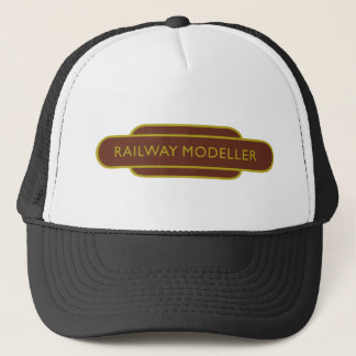 Railway Totem Railway Modeller Brown Hiking Duck Trucker Hat