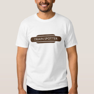 Railway Totem Train Spotter Brown Hiking Duck Shirt
