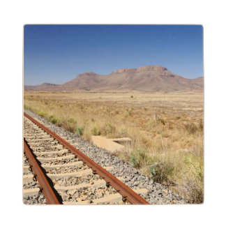 Railway Track Between Graaff-Reinet Wood Coaster